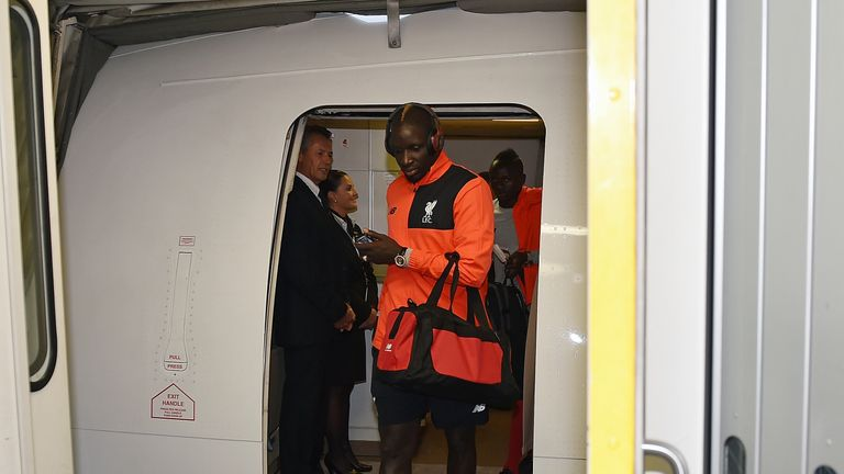 Mamadou Sakho was part of Liverpool's pre-season tour of the United States but has been sent home early