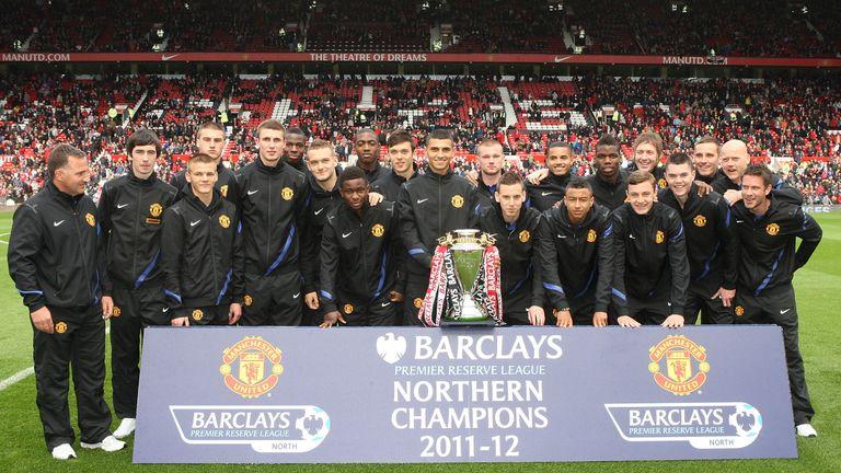 Pogba developed as part Warren Joyce's Manchester United reserve team