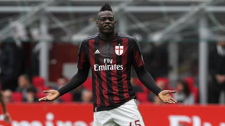 Mario Balotelli could be heading back to Italy with Serie A minnows Crotone