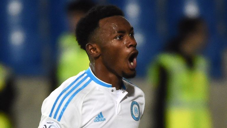 Marseille's French midfielder Georges-Kevin Nkoudou