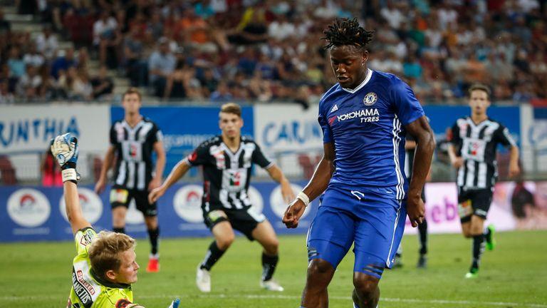 Chelsea paid £33.2m for Belgian striker Michy Batshuayi