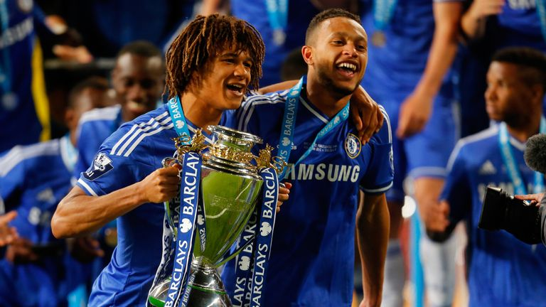 Nathan Ake (left) and Lewis Baker (right) have left Chelsea on season-long loans