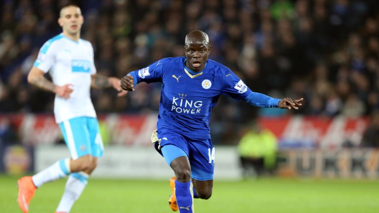 N'Golo Kante has joined Chelsea on a five-year contract