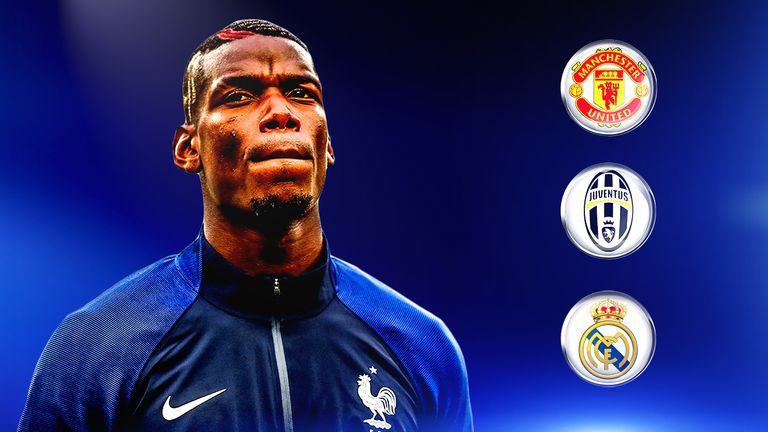 Man Utd and Real Madrid are reportedly interested in Pogba