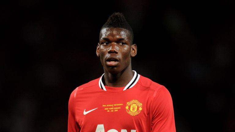 Paul Pogba of Manchester United, August 2011