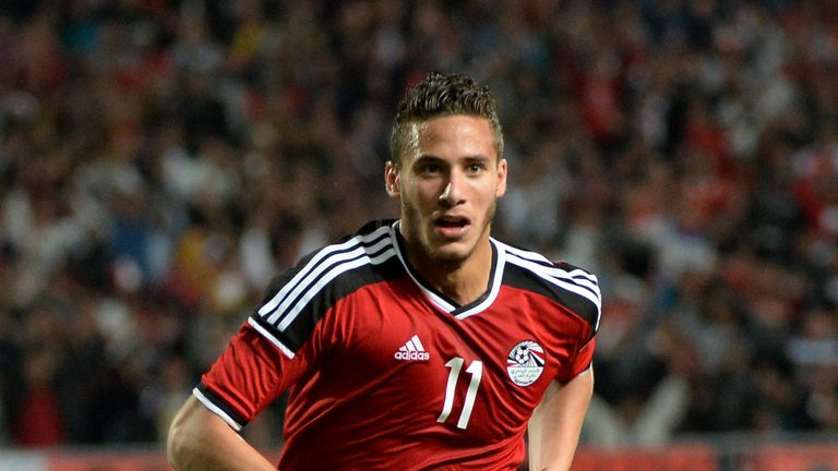 Egypt's Ramadan Sobhi is in line for a move to Stoke