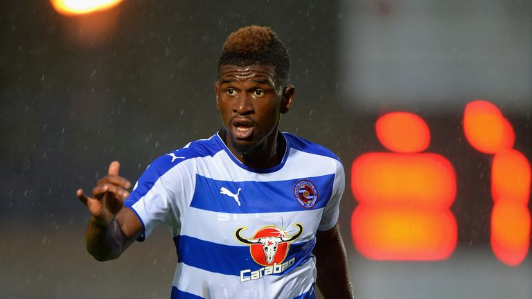 Villa signed Aaron Tshibola from Reading this week