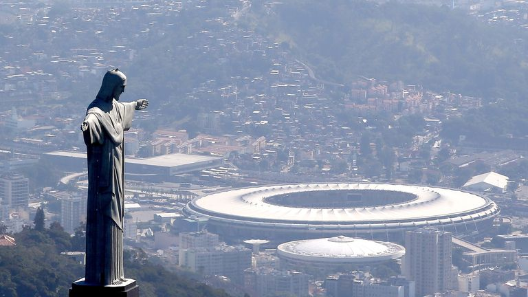 The Maracana will host the final on July 7