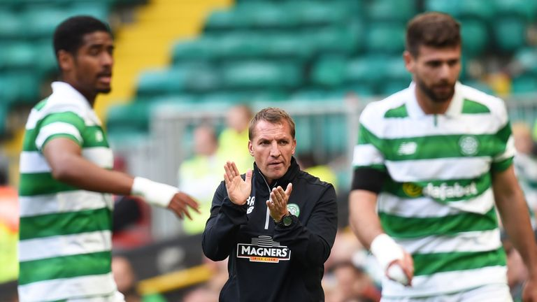 Celtic manager Brendan Rodgers