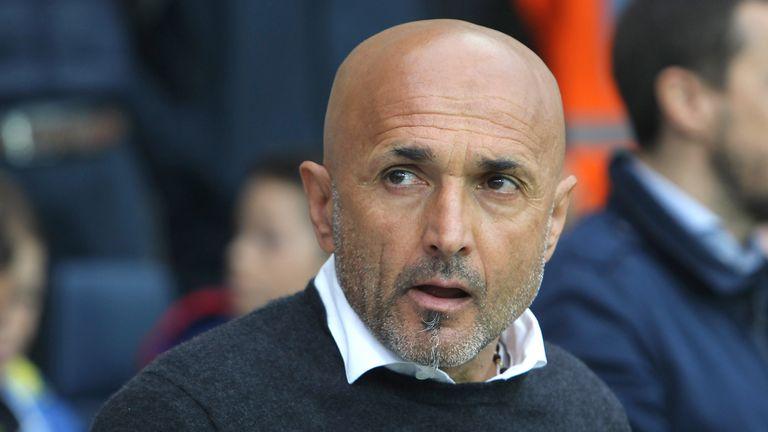 AS Roma coach Luciano Spalletti