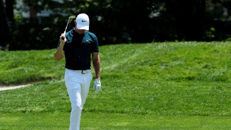 Rory McIlroy had another bad week with the putter and also had the weekend off