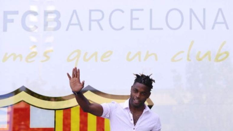 Alex Song Football Barcelona