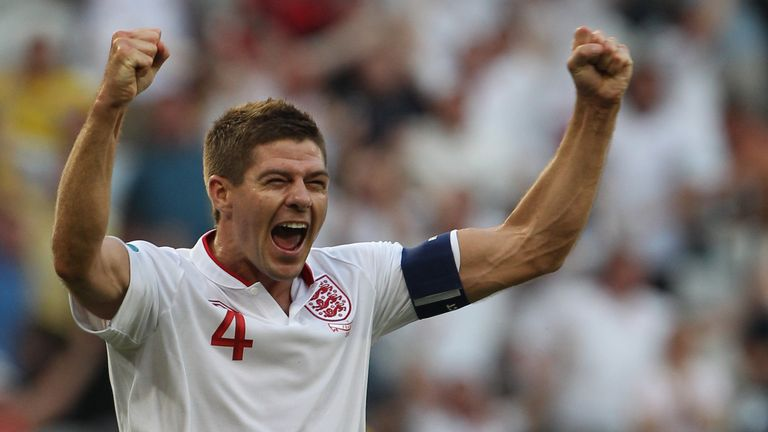 Gerrard made 114 appearances for England