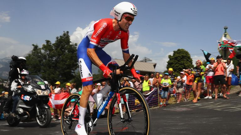 Tom Dumoulin won two stages at the Tour, including one of the two time-trials.