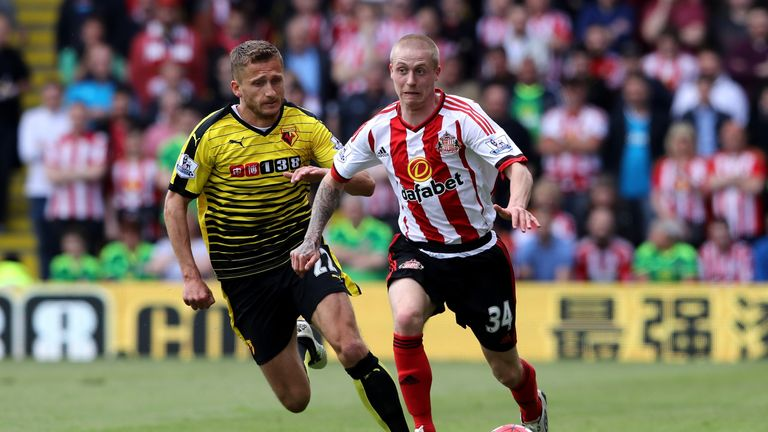 Almen Abdi (L) has joined last season's beaten play-off finalists, Sheffield Wednesday, in a move worth around £4m