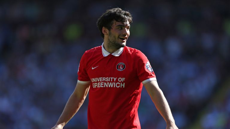 Tony Watt of Charlton Athletic during the Sky Bet Championship match against Queens Park Rangers
