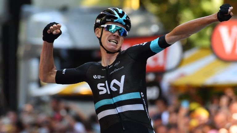 Chris Froome will lead a strong British team