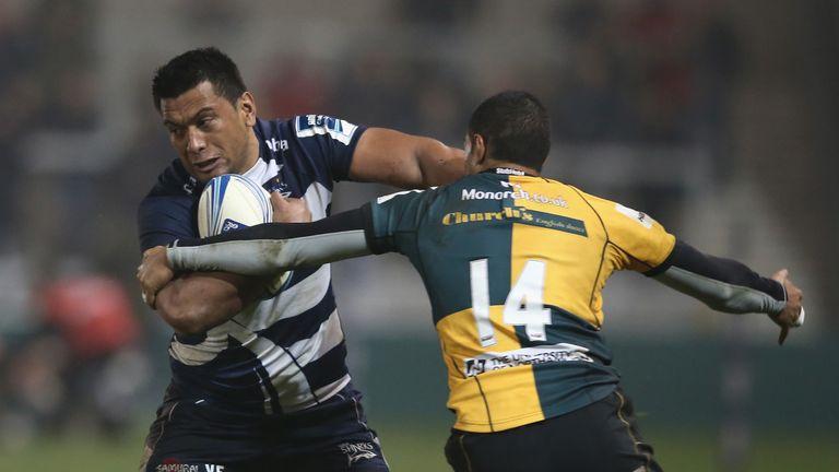 Viliami Fihaki spent three years at Sale and has eight caps for Tonga