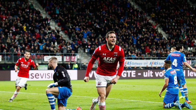 Vincent Janssen enjoyed a great season at AZ Alkmaar