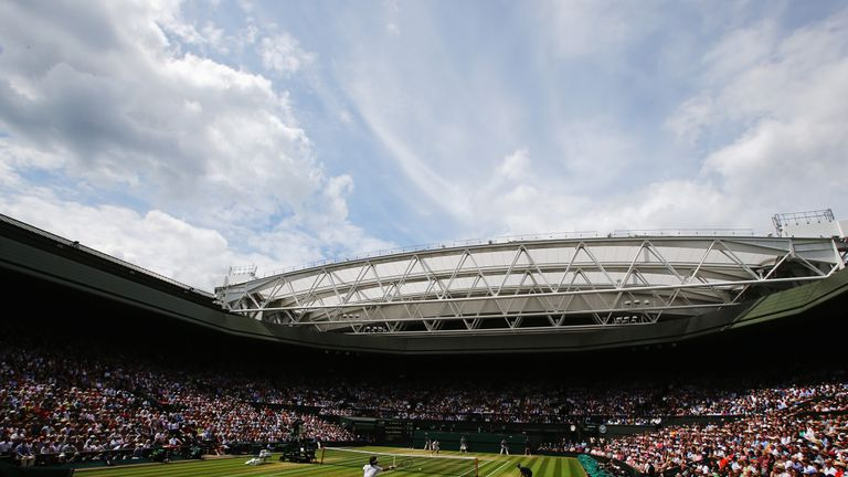 Centre Court is Federer's playground