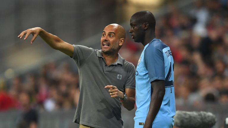 Yaya Toure's agent says the player is keen to prove he can be part of Pep Guardiola's plans at Manchester City