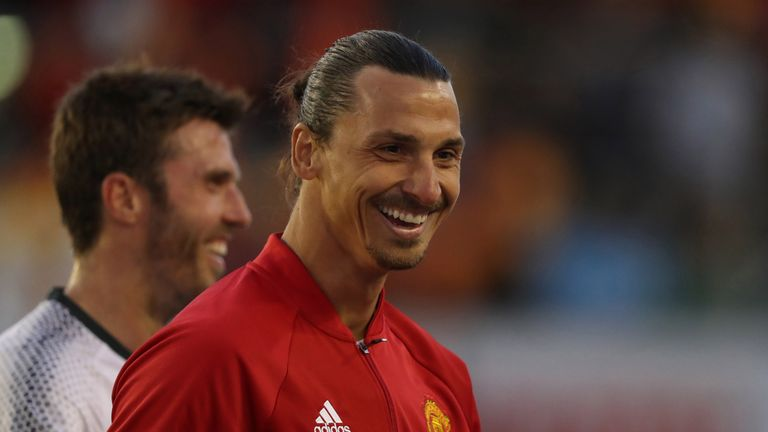 Ibrahimovic could make his Premier League debut for Man Utd against Bournemouth, live on Super Sunday