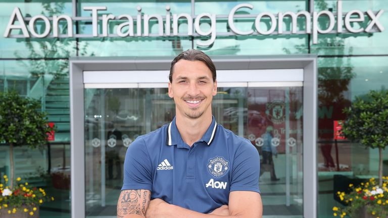 <<enter caption here>> at Aon Training Complex on July 1, 2016 in Manchester, England.