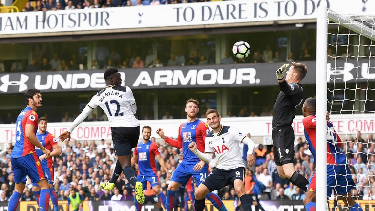 Image result for Tottenham Hotspur vs Crystal Palace pic
