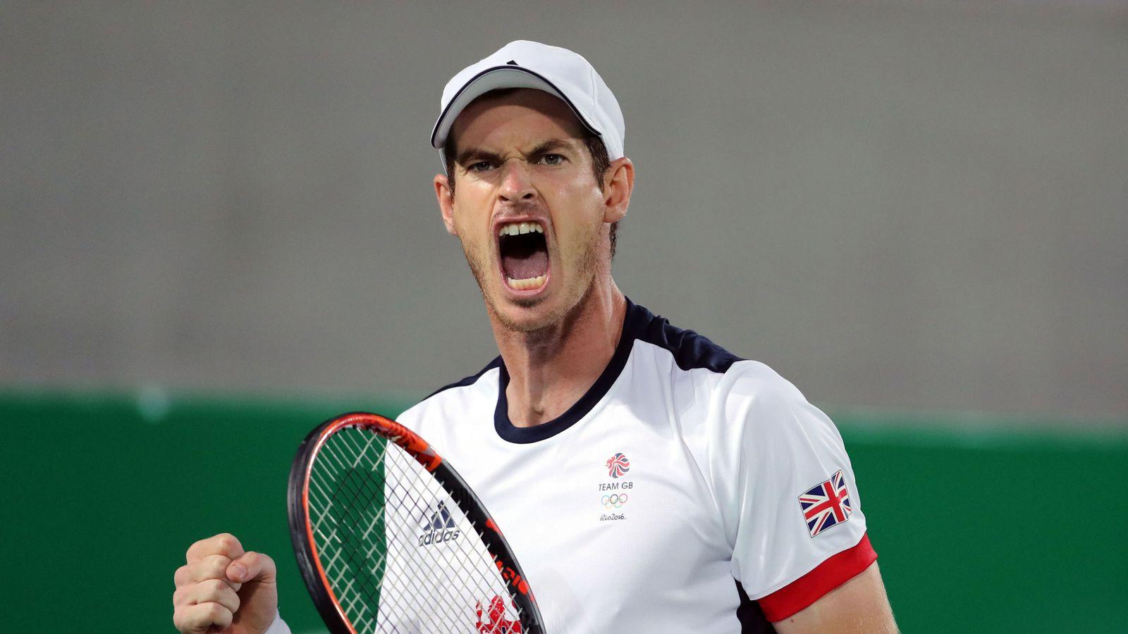 Andy Murray in Cincinnati Open action on Sky Sports   Tennis News   Sky ...