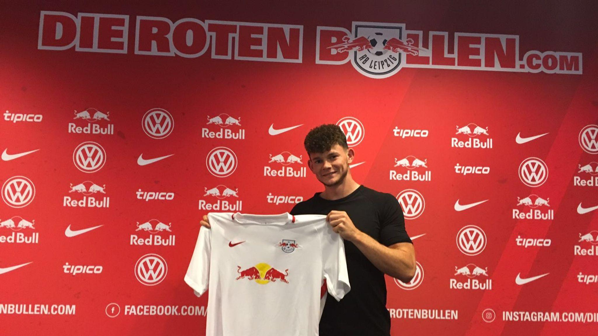 Red Bull Leipzig Sign Oliver Burke From Nottingham Forest Football News Sky Sports