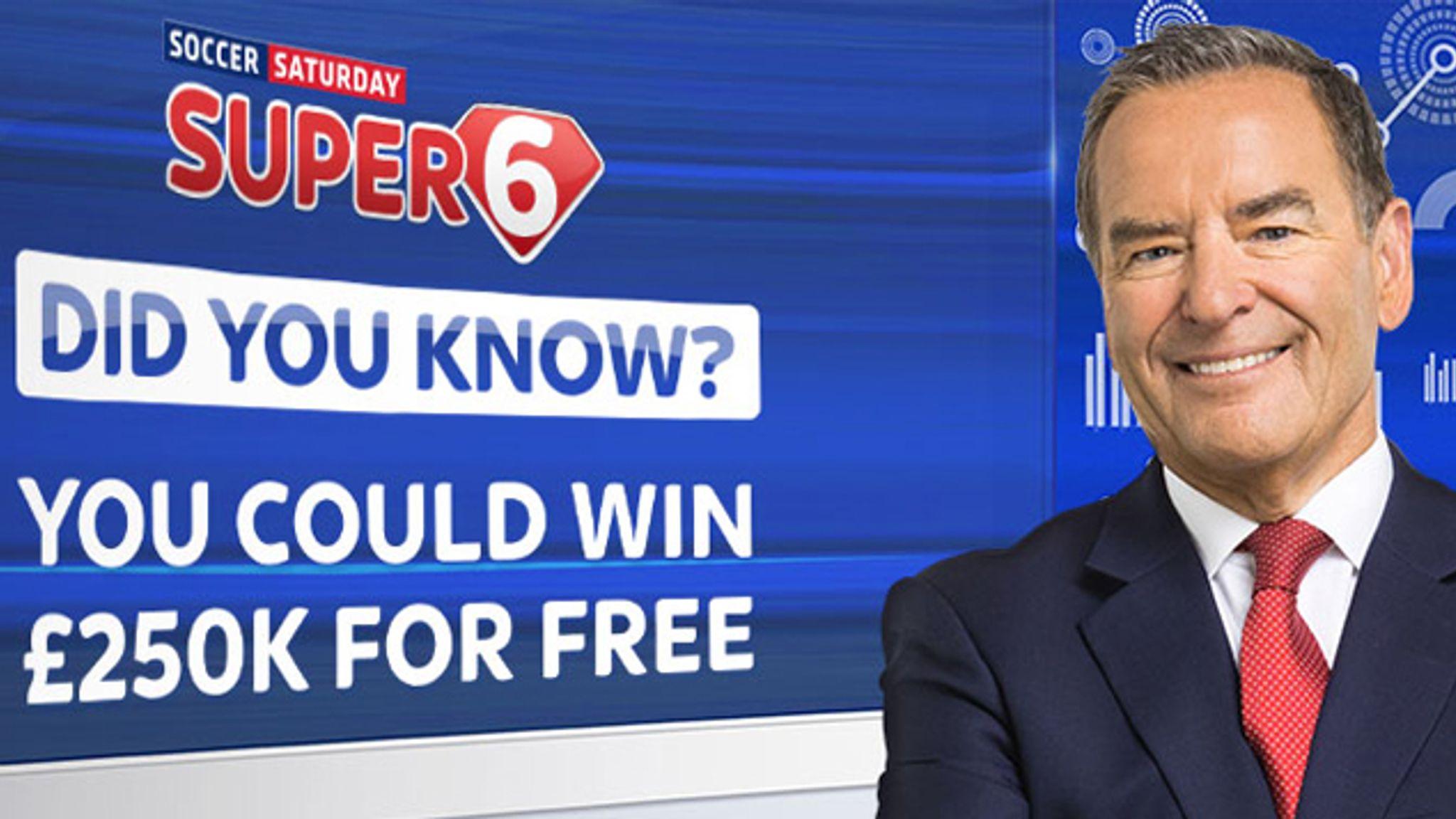 Super 6 - Win £250K! | Football News | Sky Sports