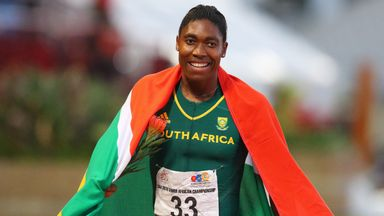 Caster Semenya won 800m gold at the 2012 and 2016 Olympic Games