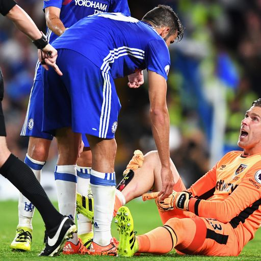 Bilic: Costa could have got red