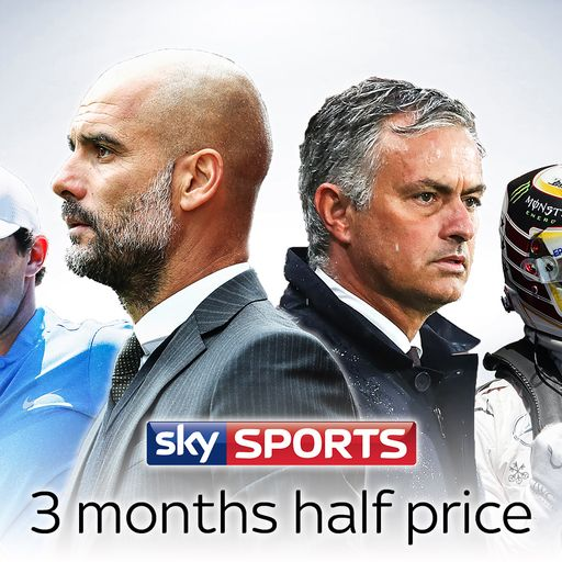 Three months half price Sky Sports