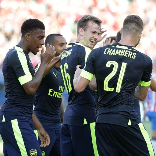 Holding scores in Arsenal win