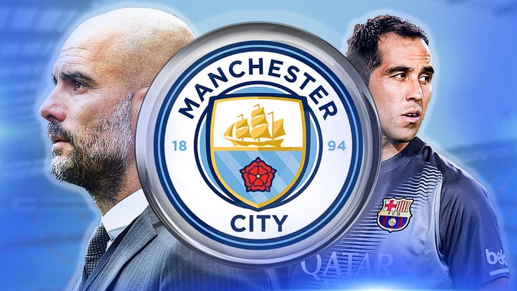 Pep Guardiola appears interested in taking Barcelona goalkeeper Claudio Bravo to Manchester City
