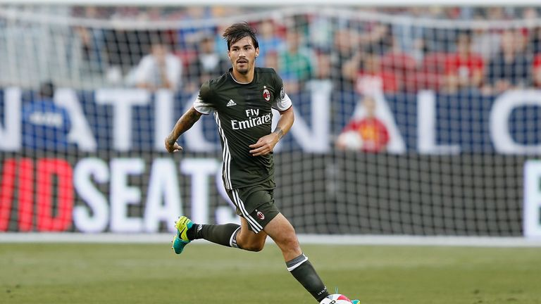 Alessio Romagnoli made 34 appearances for AC Milan last season