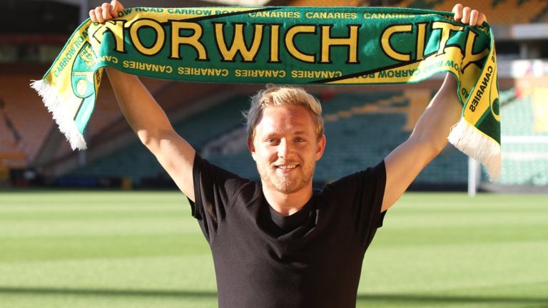 Alex Pritchard has signed a four-year deal with Norwich. Photo: Norwich City FC