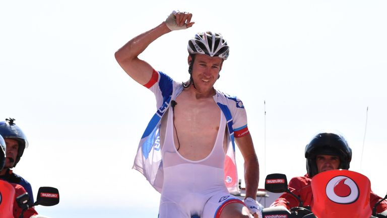 Alexandre Geniez won stage three out of the breakaway