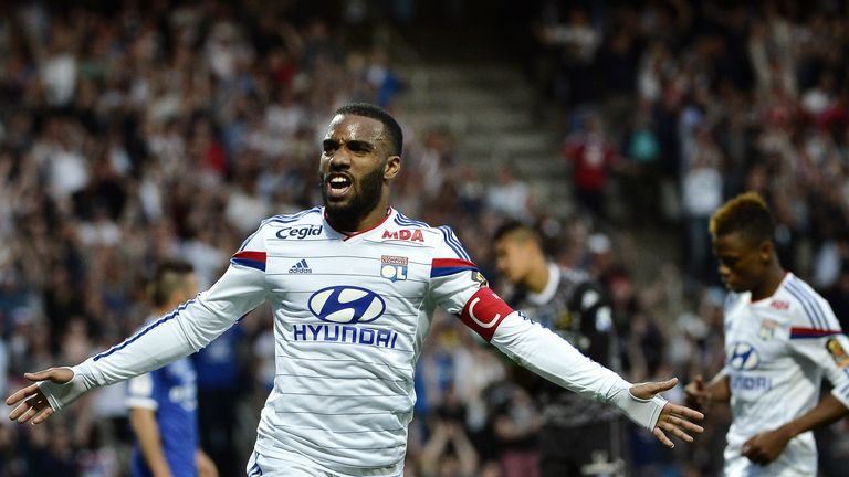 Arsenal have been linked with Alexandre Lacazette throughout the summer