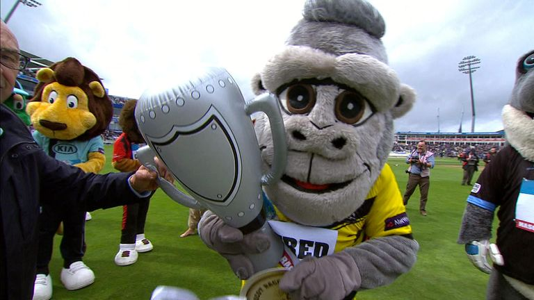 To the victor the spoils - Alfred the Gorilla is top dog