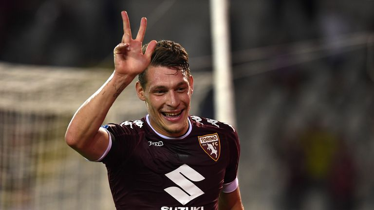 Andrea Belotti has been in sensational form for Torino this season