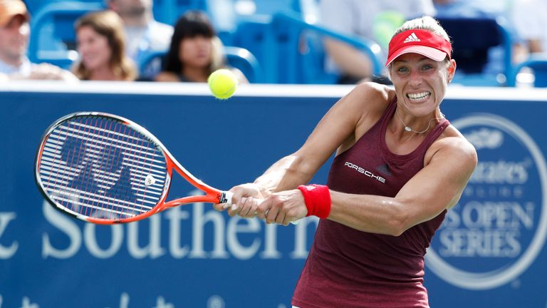 Angelique Kerber failed to take the number one spot away from Serena Williams