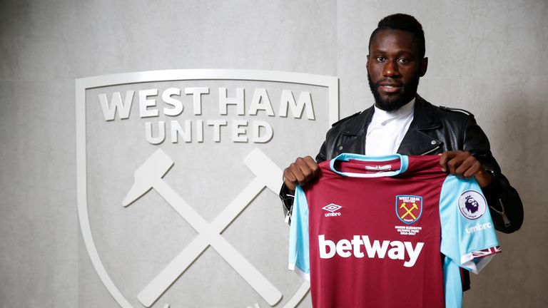West Ham United unveil new signing Arthur Masuaku