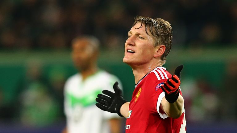 Steve Bates has referred Schweinsteiger as a 'high profile casualty' of the players Mourinho is looking to drop from his squad