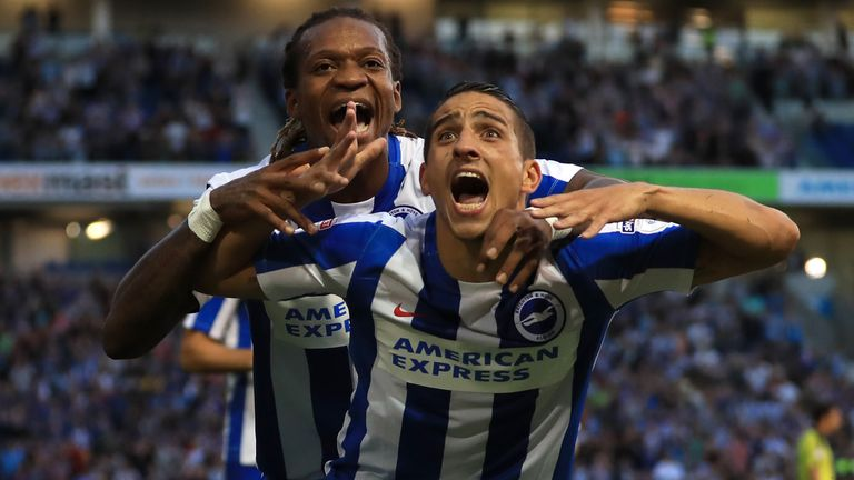 Anthony Knockaert is a 'nightmare' for defenders, says Holloway