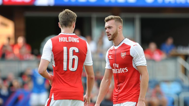 Has Calum Chambers dropped below Rob Holding in the Arsenal pecking order?