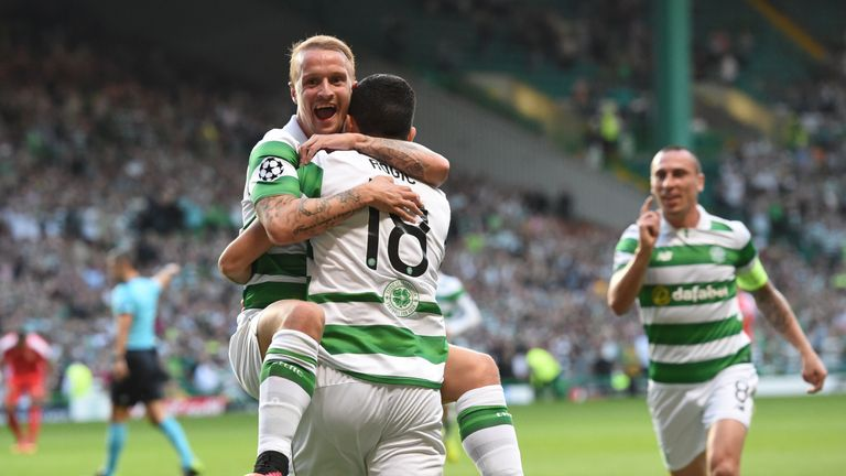 Celtic 5-2 Hapoel Be'er Sheva: Hosts hit five in topsy-turvy Champions League play-off first leg