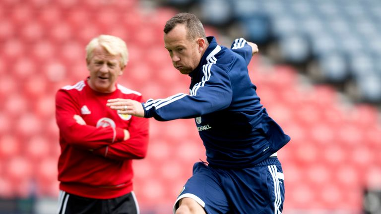 Charlie Adam fears for his future with Scotland under ...