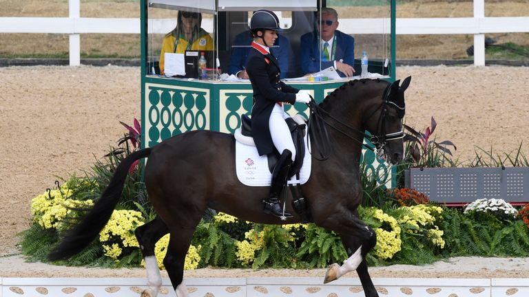 Charlotte Dujardin and Valegro were poetry in motion in their first outing in Rio